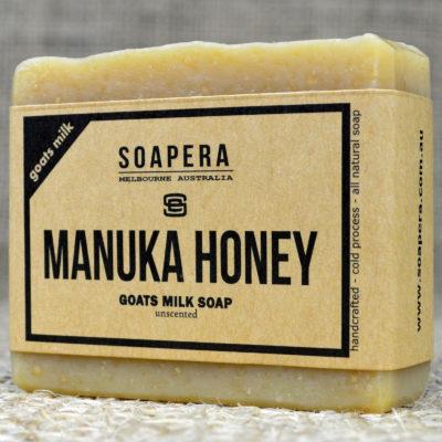 MANUKA HONEY GOATS MILK SOAP
