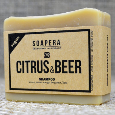 Citrus Beer Shampoo Bar