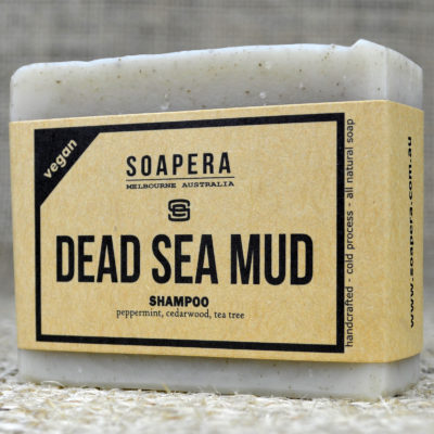 Dead Sea Mud Shampoo Bar