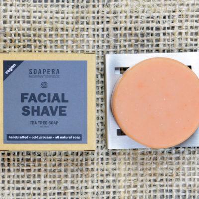 Tea Tree Clay Facial Shaving Soap