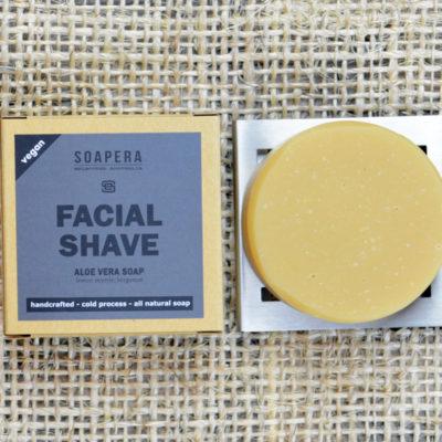 Aloe Vera Facial Shaving Soap