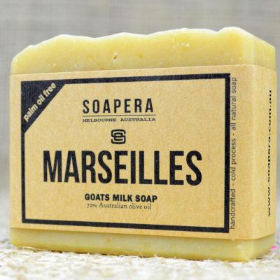 MARSEILLES 72% OLIVE GOATS MILK SOAP
