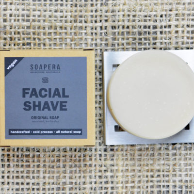 Original Facial Shaving Soap-Unscented Soap