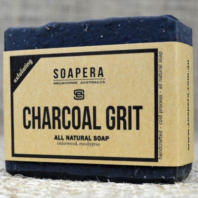 ACTIVATED CHARCOAL GRIT SOAP