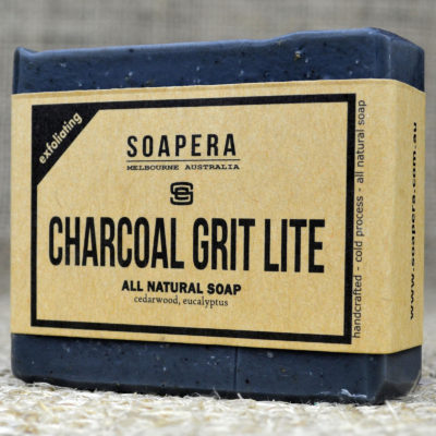 ACTIVATED CHARCOAL GRIT LITE SOAP