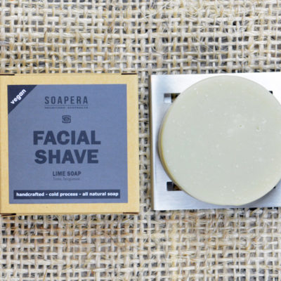 Lime Facial Shaving Soap